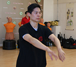 Master Paul Hawkes was at Kung Fu Schools Croydon on Saturday 15th March and was testing the students going for their Adult 1st and 2nd degrees